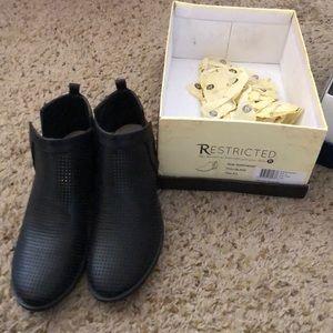 Restricted, northeast low heel booty